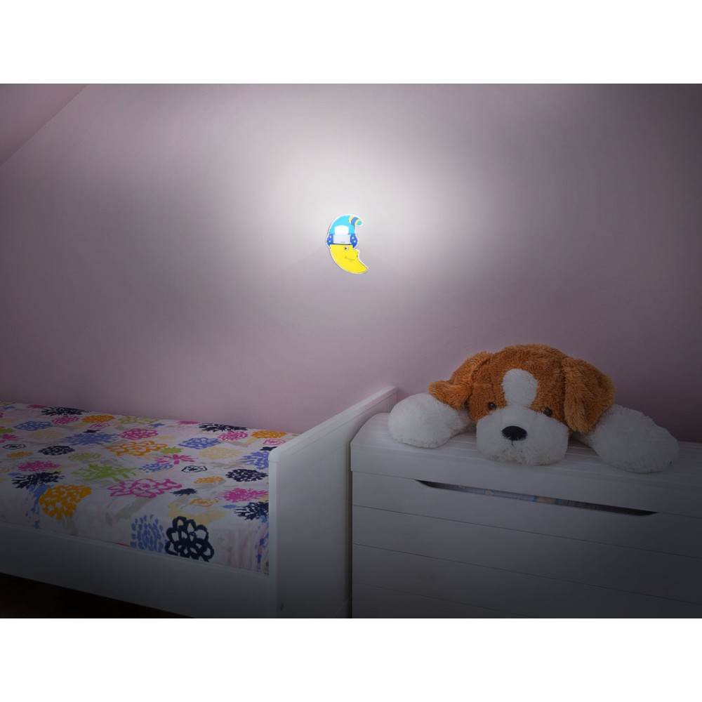 Skoff baby line lune clairage mural led for Eclairage mural
