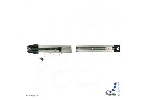 SOMFY Rail chaîne 2,9 m pour portes de garage (2)