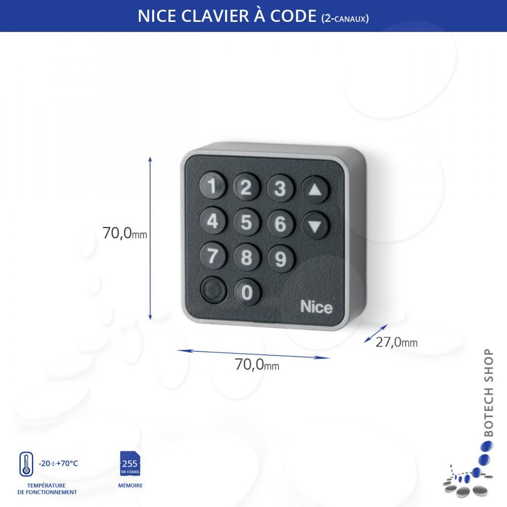 Clavier /à code NICE EDS