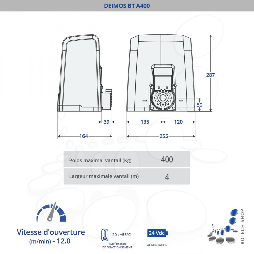 Remarquable BFT DEIMOS BT A400 ZJ-14