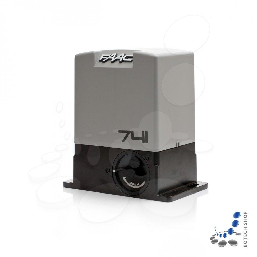 faac 741 moteur 230v pour les portails coulissants kit s. Black Bedroom Furniture Sets. Home Design Ideas