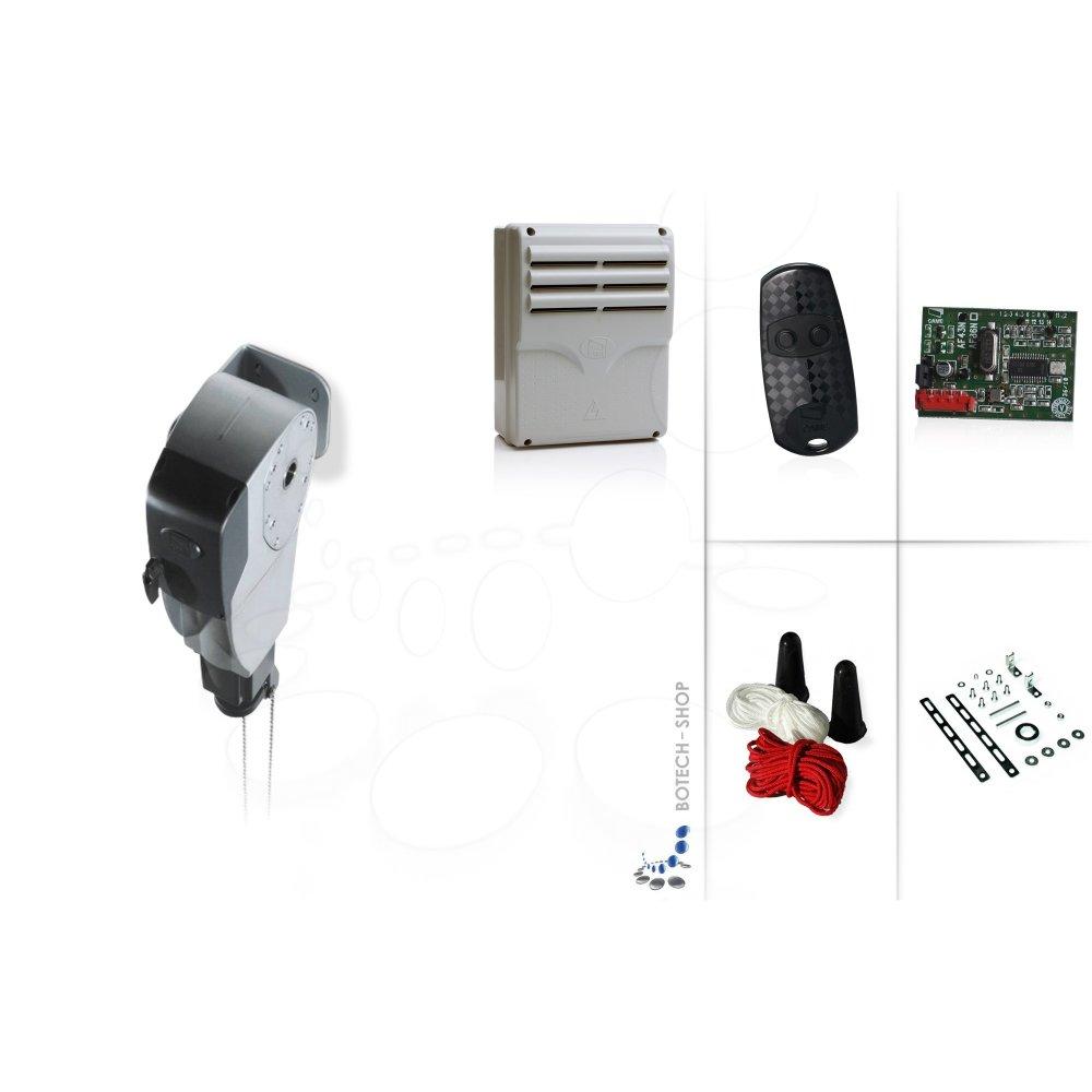 Motores puertas de garaje good motores tubulares - Motor de puerta de garaje ...
