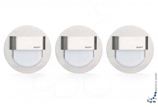 3x RUEDA STANDARD luminaire en acier inoxydable