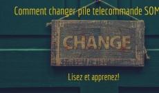 Comment changer pile télécommande SOMFY KEYTIS et KEYGO ?