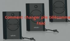 Comment changer pile télécommande FAAC ? Lisez et trouvez la solution!
